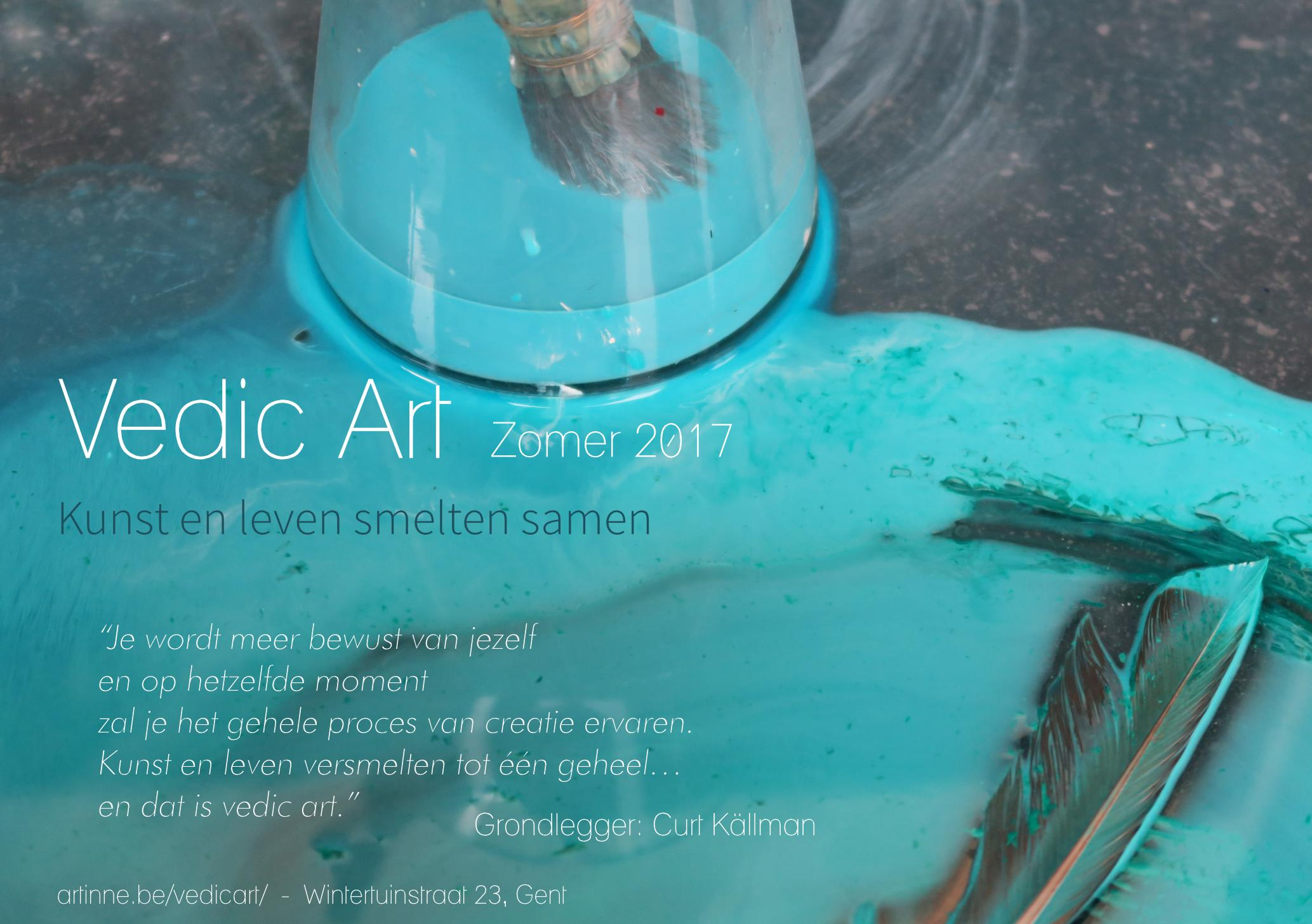 Vedic Art Gent | Zomer aanbod | Kunst en leven smelten samen
