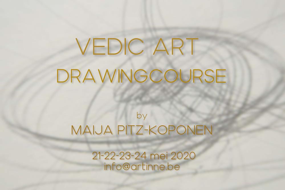 Vedic Art Tinne | Drawingcourse Maija Pitz-Koponen 2020 IV 01