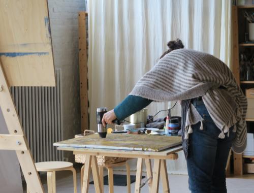 Vedic Art Vrij Atelier en Najaar 2018